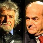Beppe Grillo e Pierluigi Bersani