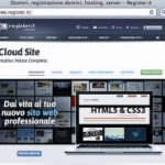 Register.it - Cloud Site