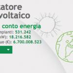Contatore fotovoltaico