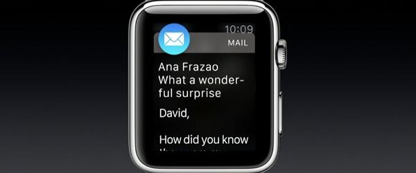 Apple Watch - funzione Glances