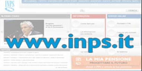 home page inps