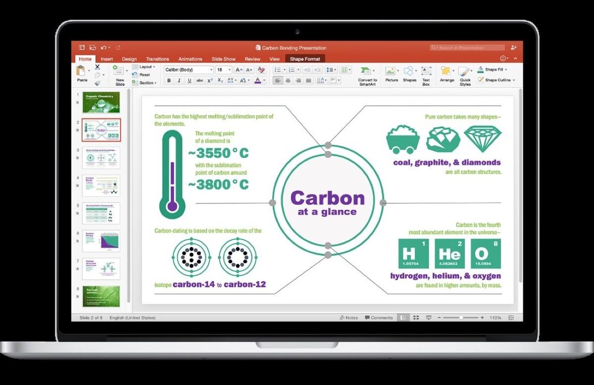 PowerPoint_Office 2016 per Mac