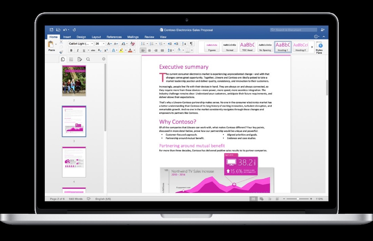 Word_Office 2016 per Mac