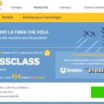 "Business Class"" Fastweb"