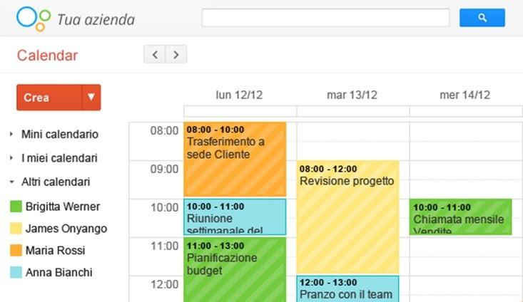 Creare Calendario Condiviso.Google Calendar Condivisione E Smart Working Pmi It