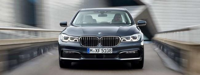 BMW Serie 7 anteriore