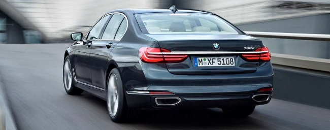BMW Serie 7 coda