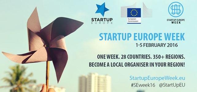 Startup Europe Week 2016