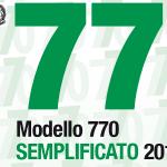 Modello 770/2016