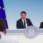 Renzi e Padoan DEF