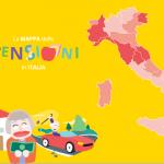 Mappa pensioni in Italia