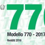 modello 770/2017