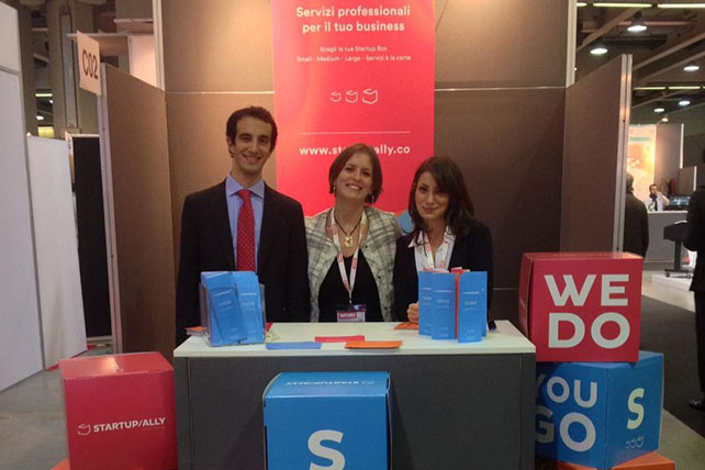 Start Up Ally - Smau 2016 Milano