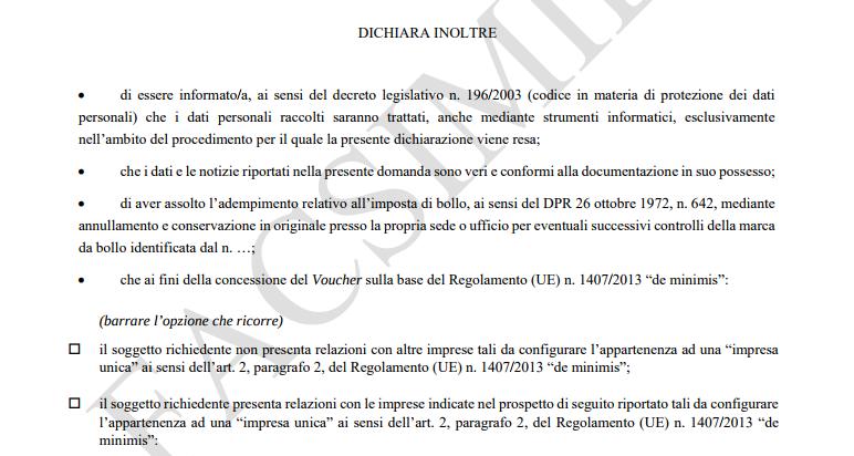 domanda digitalizzazione pmi