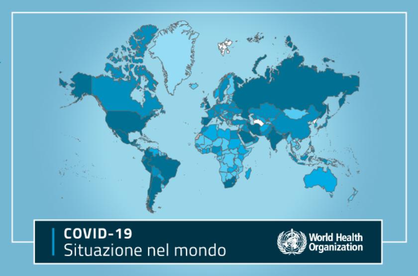 Cartina Mondo Orientale.Mappa Coronavirus La Diffusione Nel Mondo A Settembre 2020 Pmi It