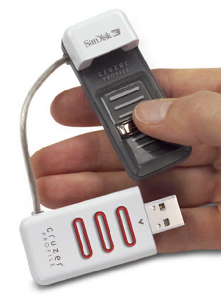 Lettore biometrico in una penna USB