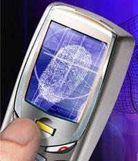 Lettore biometrico in un cellulare