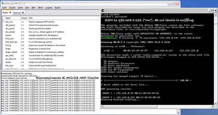 Ettercap per Windows - II