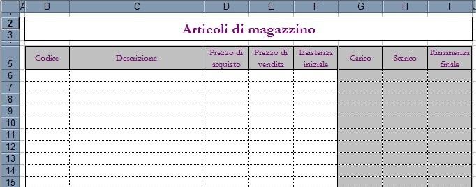 Gestire La Contabilità Di Magazzino Con Excel Pmi It
