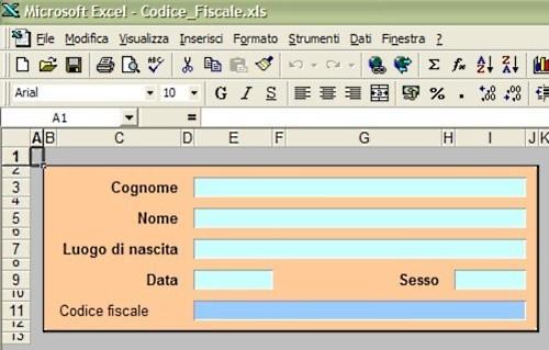 Costruzione Codice Fiscale con Excel: guida - PMI.it