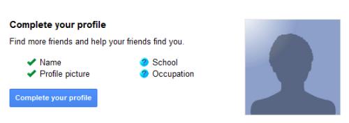 Google Plus: Profilo